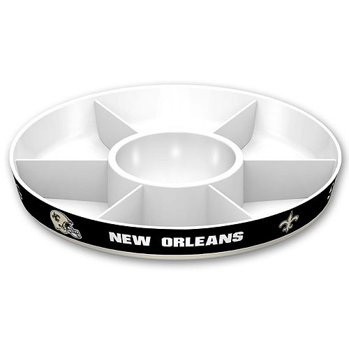 New Orleans Saints NFL Divided Party Platter