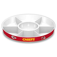 Kansas City Chiefs NFL Divided Party Platter