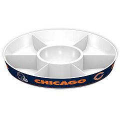 Chicago Bears NFL Divided Party Platter