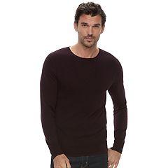 Men's Marc Anthony Slim-Fit Heathered Crewneck Sweater