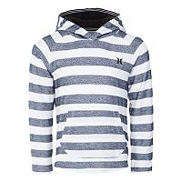 Boys 4-7 Hurley Herringbone Striped Pullover Hoodie