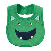 Baby Boy Carter's Monster Terry Bib