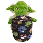 Star Wars Galaxy Yoda Hugger Plush & Throw