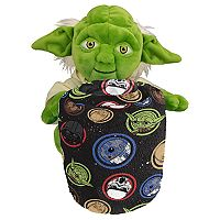 Star Wars Galaxy Yoda Hugger Plush & Throw