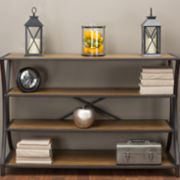 Baxton Studio Lancashire Industrial Console Table