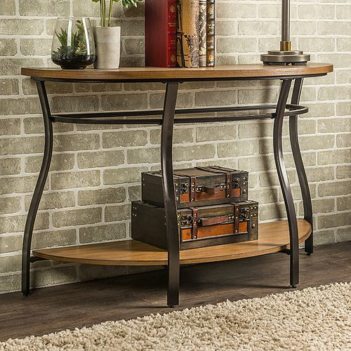 Super Baxton Studio Newcastle Industrial Console Table Spiritservingveterans Wood Chair Design Ideas Spiritservingveteransorg