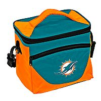 Logo Brand Miami Dolphins Halftime Lunch Cooler