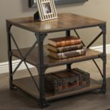 Baxton Studio Grayson Industrial End Table