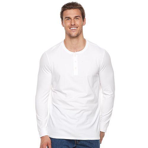 Men's SONOMA Goods for Life™ Modern-Fit Flexwear Henley