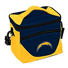 Logo Brand Los Angeles Chargers Halftime Lunch Cooler