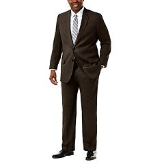 Big & Tall J.M. Haggar Premium Classic-Fit Sharkskin Stretch Suit Jacket