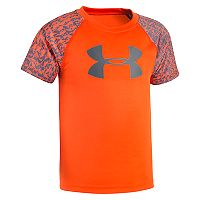 Boys 4-7 Under Armour Logo Raglan Tee