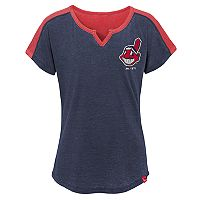 Girls 7-16 Majestic Cleveland Indians Ballpark Best Tee