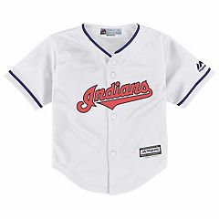 Baby Majestic Cleveland Indians Cool Base Replica Jersey