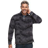 Men's Croft & Barrow® Arctic Fleece Quarter-Zip Pullover