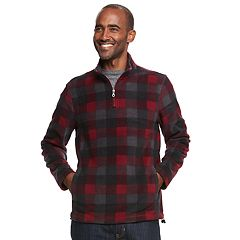 Men's Croft & Barrow® Arctic Fleece Quarter-Zip Pullover
