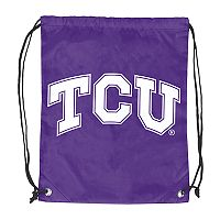Logo Brands TCU Horned Frogs Double Header Reversible Backsack