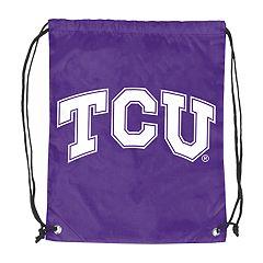 Logo Brands TCU Horned Frogs Double Header Reversible Backsack