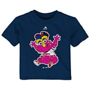Baby Majestic Cleveland Indians Mascot Tee