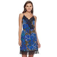Women's Apt 9® Lace-Trim Slip Dress