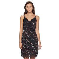 Women's Apt 9® Lace-Trim Slip Dress
