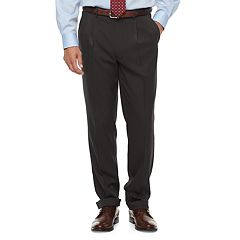 Men's Chaps Classic-Fit Performance Pleated Dress Pants