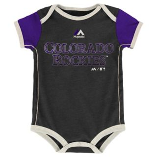 Baby Majestic Colorado Rockies Vintage 2-Pack Bodysuit Set