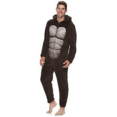 Men's Gorilla Hooded Union Suit
