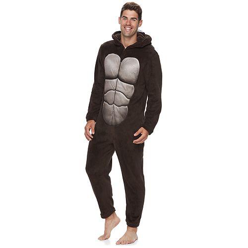 Men's Gorilla Hooded Union Suit