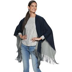 Apt. 9® Fringed Reversible Ruana