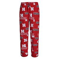 Men's Concepts Sport Nebraska Cornhuskers Slide Lounge Pants
