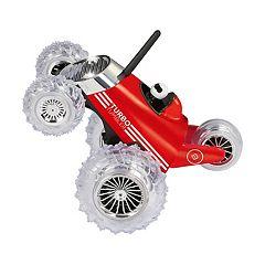 Black Series Monster Spinning Turbo Tumbler RC Toy Car