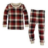 Baby Burt's Bees Baby Organic Buffalo Plaid Family Pajama Set