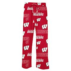 Men's Concepts Sport Wisconsin Badgers Slide Lounge Pants