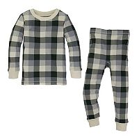 Toddler Burt's Bees Baby Organic Buffalo Plaid Family Pajama Set