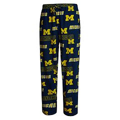 Men's Concepts Sport Michigan Wolverines Slide Lounge Pants