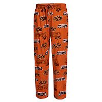 Men's Concepts Sport Oklahoma State Cowboys Slide Lounge Pants
