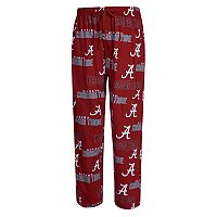 Men's Concepts Sport Alabama Crimson Tide Slide Lounge Pants