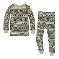 Baby Burt's Bees Baby Organic Fairisle Family Pajama Set
