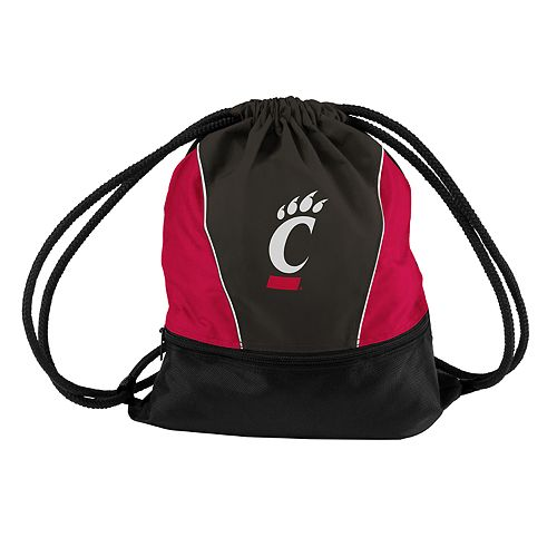 Logo Brands Cincinnati Bearcats Sprint Drawstring Bag