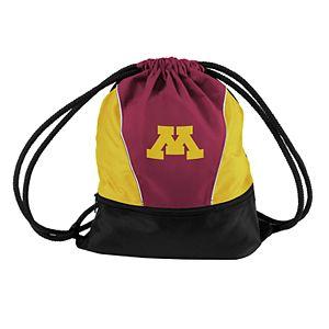 Logo Brands Minnesota Golden Gophers Sprint Drawstring Bag