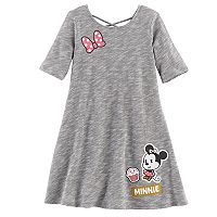 Disney's Minnie Mouse Girls 4-7 Space-Dyed Dress by Jumping Beans®