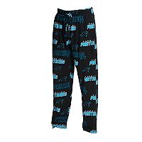 Men's Concepts Sport Carolina Panthers Slide Lounge Pants