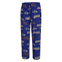 Men's Concepts Sport Baltimore Ravens Slide Lounge Pants