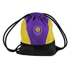 Logo Brands Orlando City SC Sprint Drawstring Bag