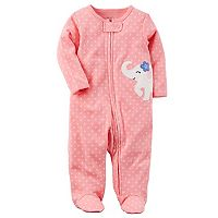 Baby Girl Carter's Embroidered Sleep & Play