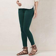 Maternity LC Lauren Conrad Full-Belly Panel Jeggings