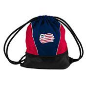 Logo Brands New England Revolution Sprint Drawstring Bag