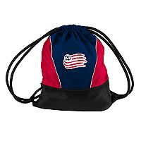 Logo Brands New England Revolution Sprint Drawstring Bag