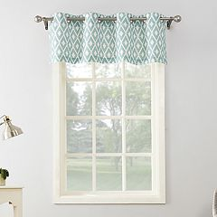 The Big One® Decorative Diamond Window Valance